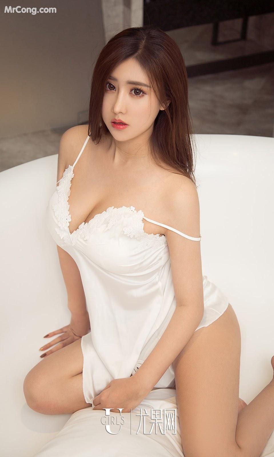Image UGIRLS-Ai-You-Wu-App-No.930-Chen-Mei-Xi-MrCong.com-010 in post UGIRLS – Ai You Wu App No.930: Người mẫu Chen Mei Xi (陈美熙) (40 ảnh)