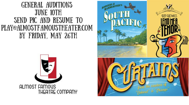 PHX Stages: audition notice - Season General Auditions - Almost ...