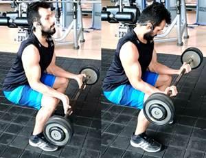 Ejercicio para trabajar los músculos flexores de los antebrazos
