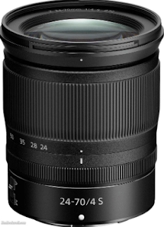 Nikon Z 24-70mm f4S Digital Lens