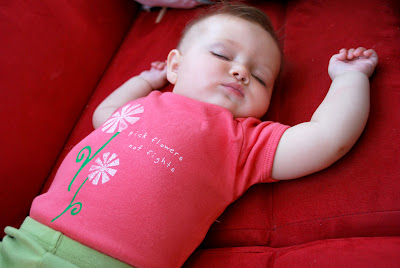 bright organic baby onezie - Growing Up Organic