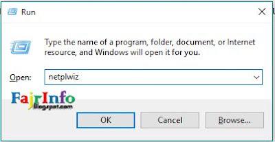 Cara Sign-in Otomatis Pada Windows 10 (Tanpa Memasukkan Password)