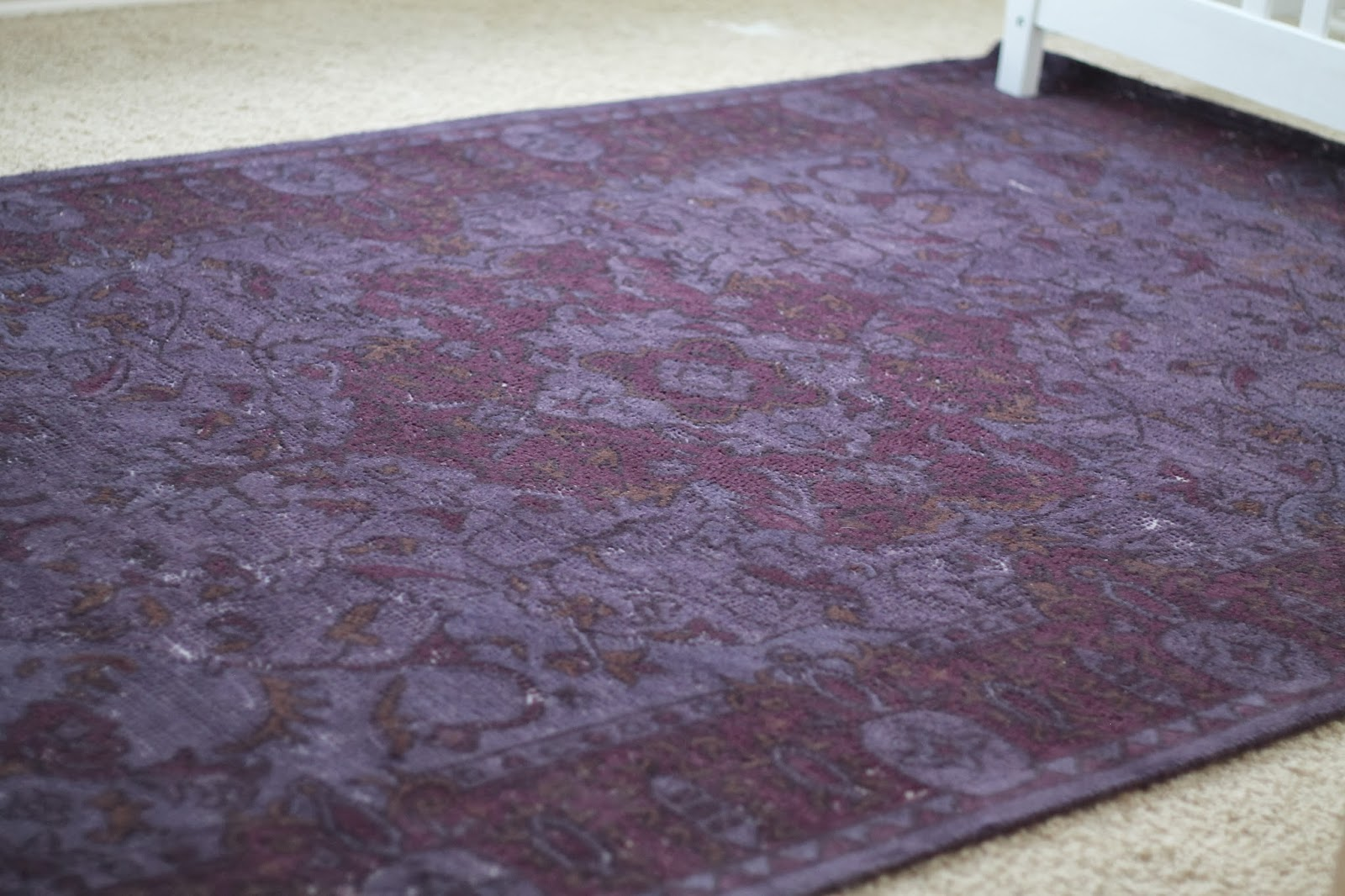 It S The Bursa Wool Rug In Merlot Curly Sold Out From West Elm We Had Actually Been Going Back And Forth Getting 9 12 Navy One For Our Living