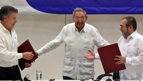 FARC y Gobierno colombiano trabajan en acuerdo final de paz