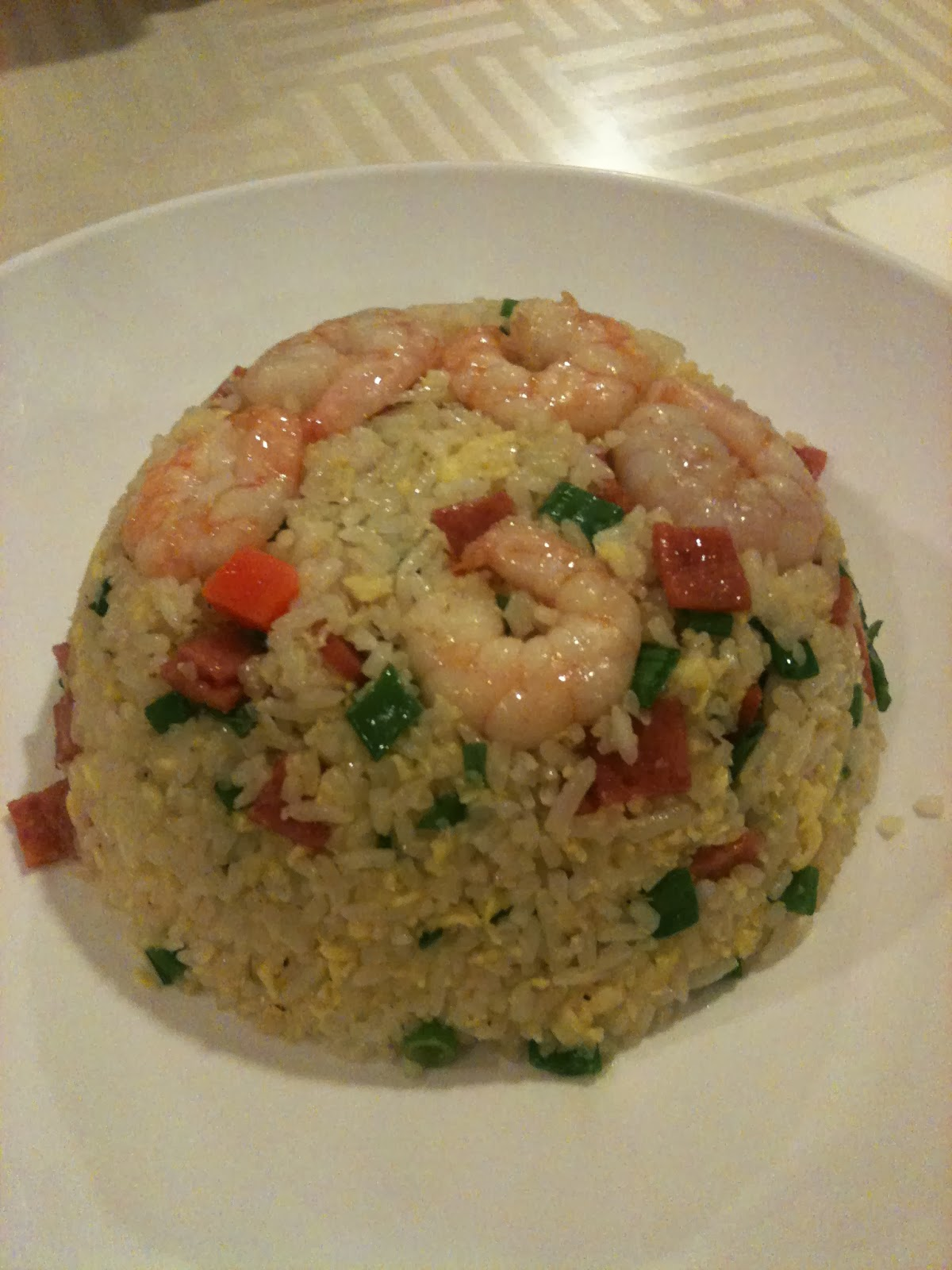 Fried Rice With Shred Ham &