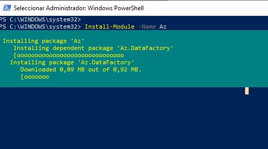 Cómo instalar el módulo de Azure PowerShell Az - Cesar Herrada