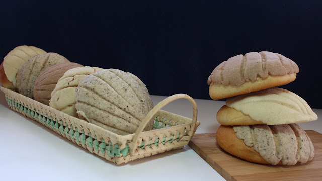 Conchas mexicanas pan dulce