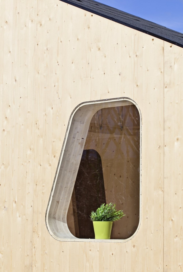 Window on Student Flat by Tengbom architects
