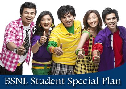 BSNL Student Plan Prepaid Mobile SIM Card