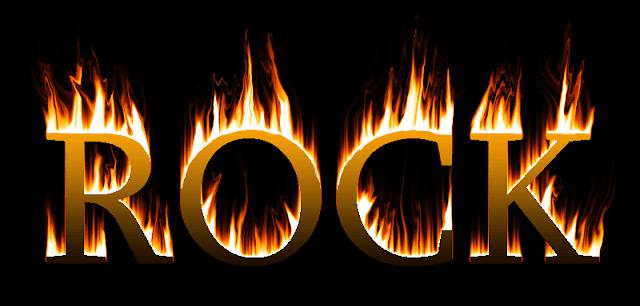 Efek Api Photoshop pada Teks