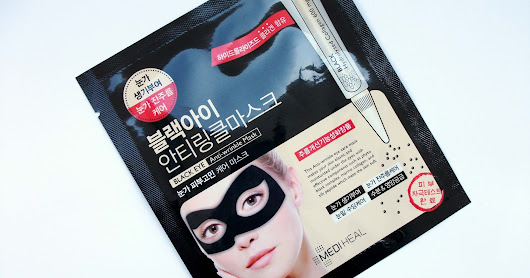Mediheal - Black Eye Anti-wrinkle Mask (Korean anti-aging sheet mask) review