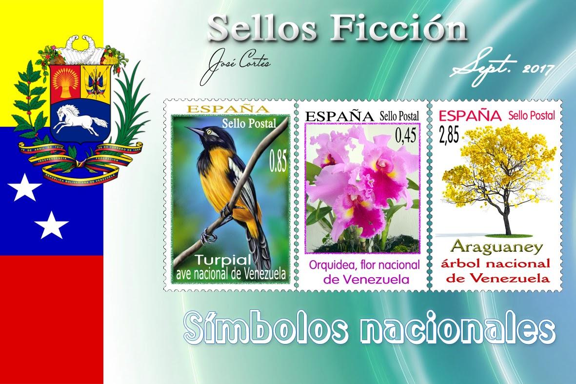 Simbolos Naturales De Todos Los Estados De Venezuela   sellos ficci 211 n simbolos nacionales de venezuela