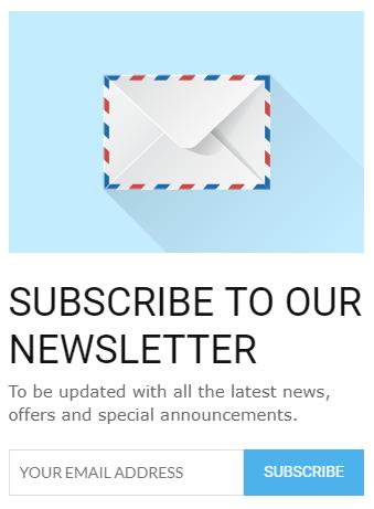 how to add mailchimp to blogger widget
