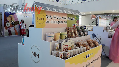Thỏa sức mua sắm tại Ngày hội Thực phẩm Hàn Quốc Thương hiệu NH 1