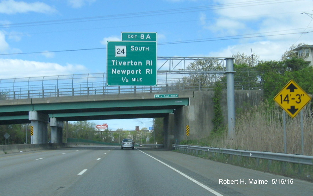 Kentucky Freeway Map%0A The     mile advance sign can be seen in the distance  Here u    s a closer view