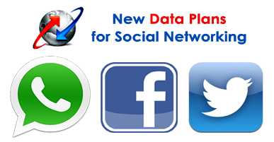 BSNL New Data Plans for WhatsApp, Facebook, Twitter