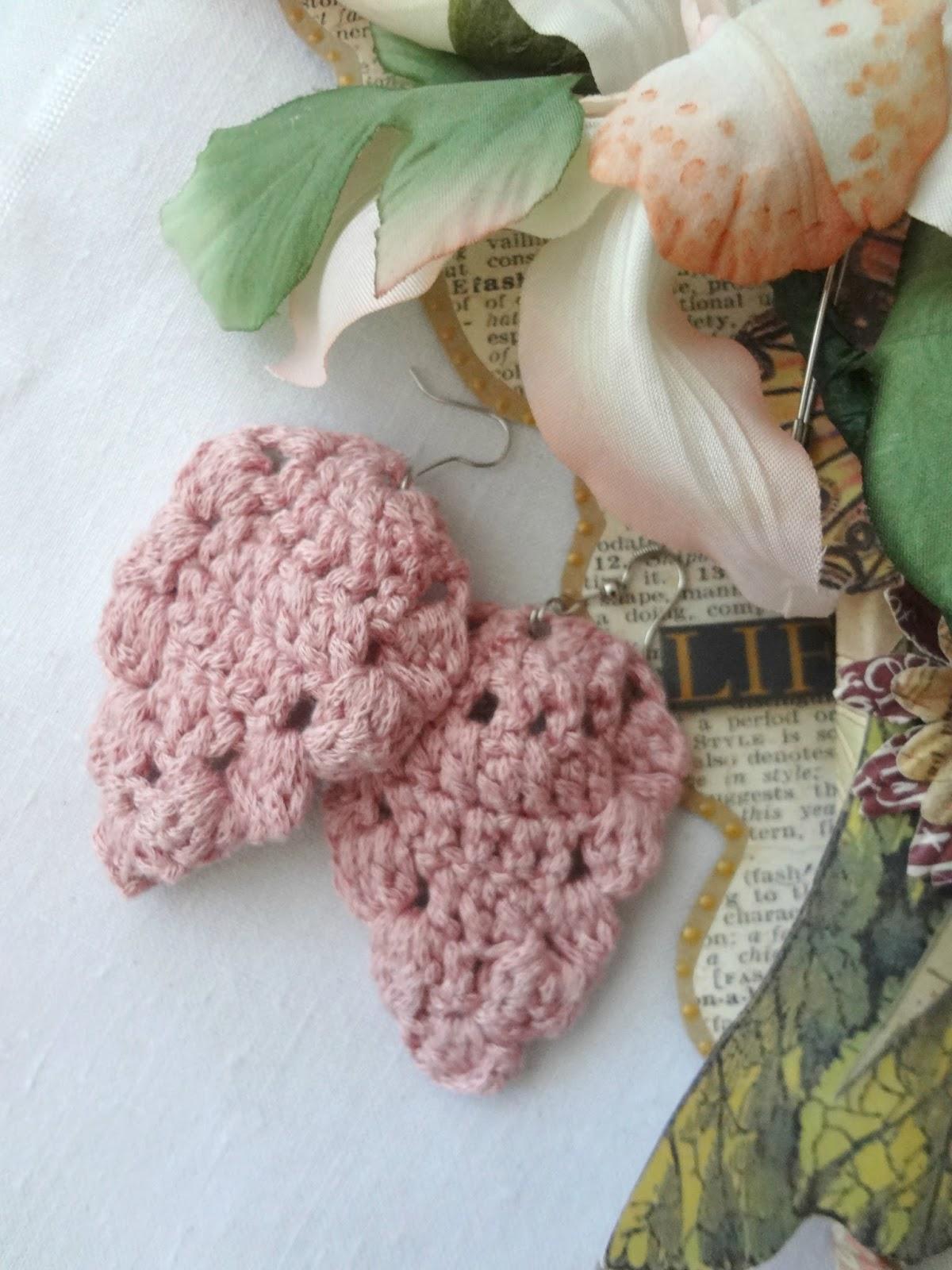 Little treasures pineapple motif earrings crochet pattern pineapple motif earrings crochet pattern dt1010fo