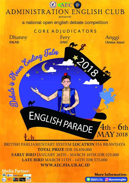 English Parade 2018