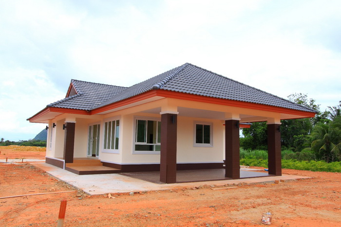 If you have a family with five to six members, a house with three bedrooms can be a good choice! These houses can be considered as not too big nor too small for every family.  Having a three-bedroom house is a good choice also even if you have a small family because you will be having an extra bedroom for your guest, visitors or friend.  If you are thinking what kind of house design to have, you may check the following photos of new build house designs below. Be inspired by the designs and its interior. Choosing one can help you formulate your dream house. Just design your own floor plans for your family's comfort and convenience!