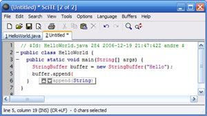 Download SciTE 3.3.6
