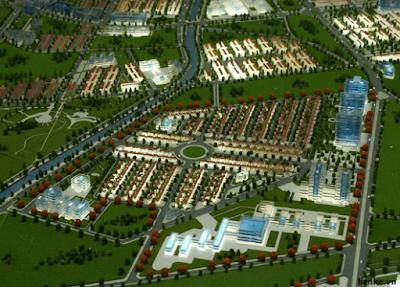 Quần thể khu đô thị Dương Nội - Hà Đông