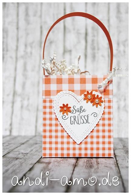 Stampin Up Kleine Geschenktüte handgemacht