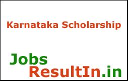 Karnataka Scholarship 2017