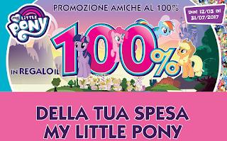 Logo Con Hasbro My Little Pony Spendi & Riprendi buoni da 5 euro