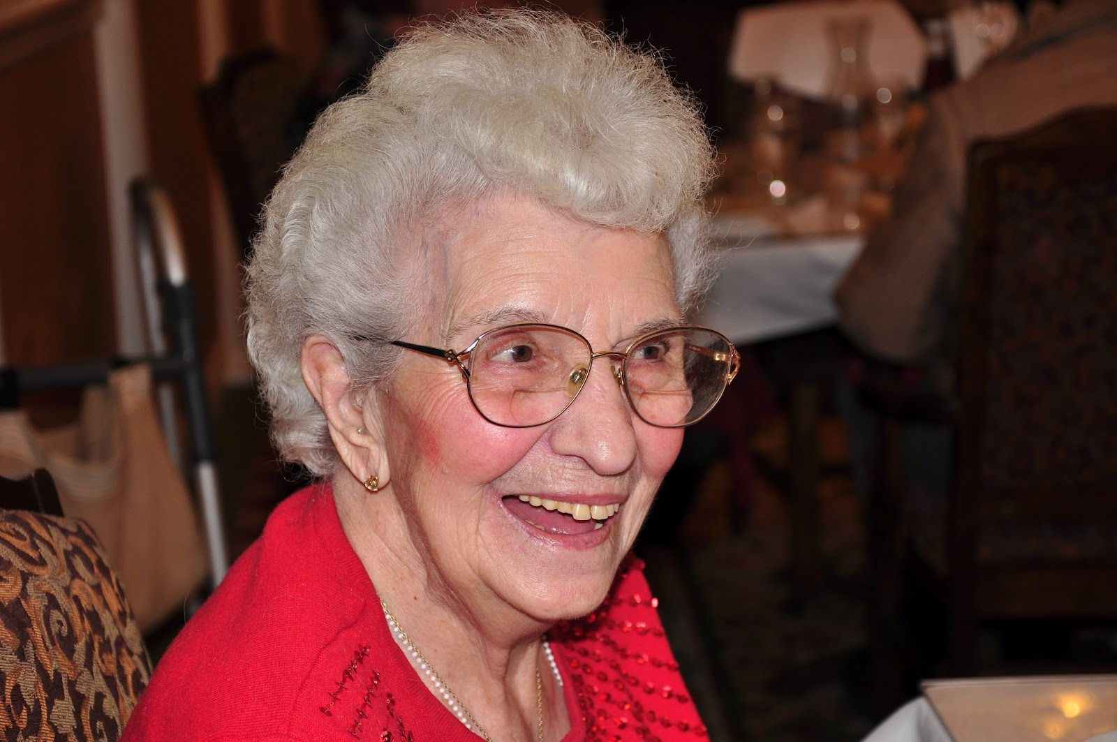 My Great Grandma is 100