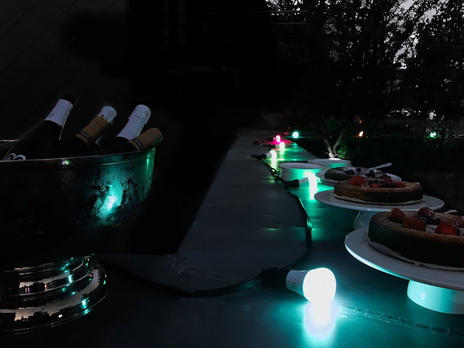 Philips hue, wireless light, wellbeing, event, hotel julien antwerp, rooftop party