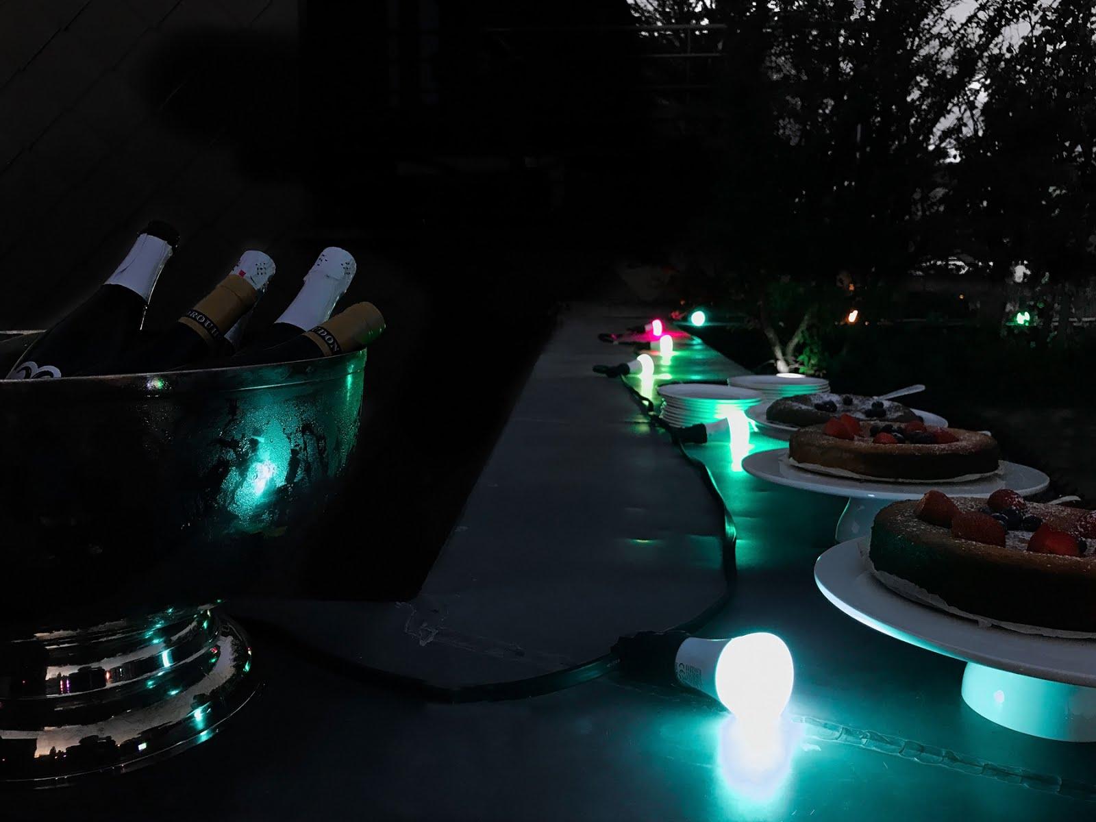 Philips hue, wireless light, wellbeing, event, hotel julien antwerp, rooftop party