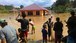 Watervang Lubuk linggau Banjir