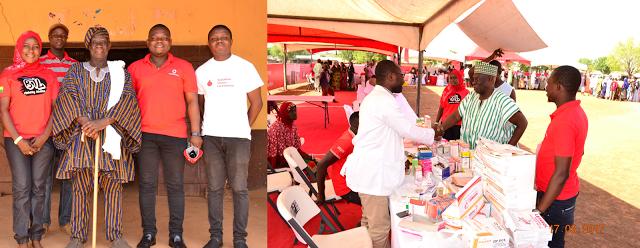 Tolon Chief Applauds Vodafone For 'Healthfest'
