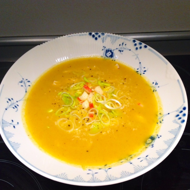 kylling karry suppe