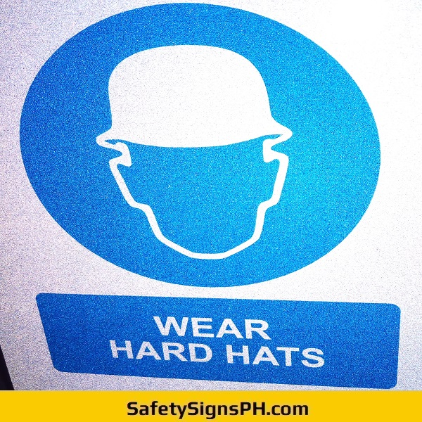 Wear Hard Hats Sign Philippines