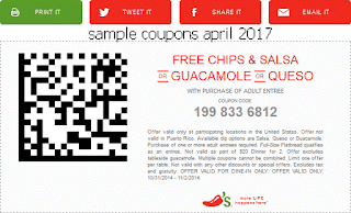 Chili's coupons for april 2017