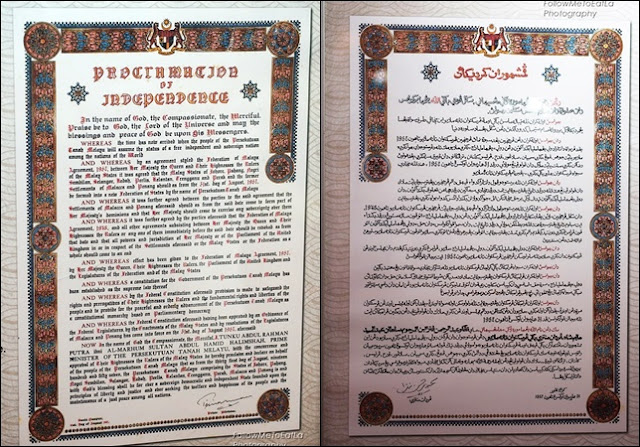 PROCLAMATION OF INDEPENDENCE