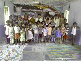 Orphans helped in India Chriatians