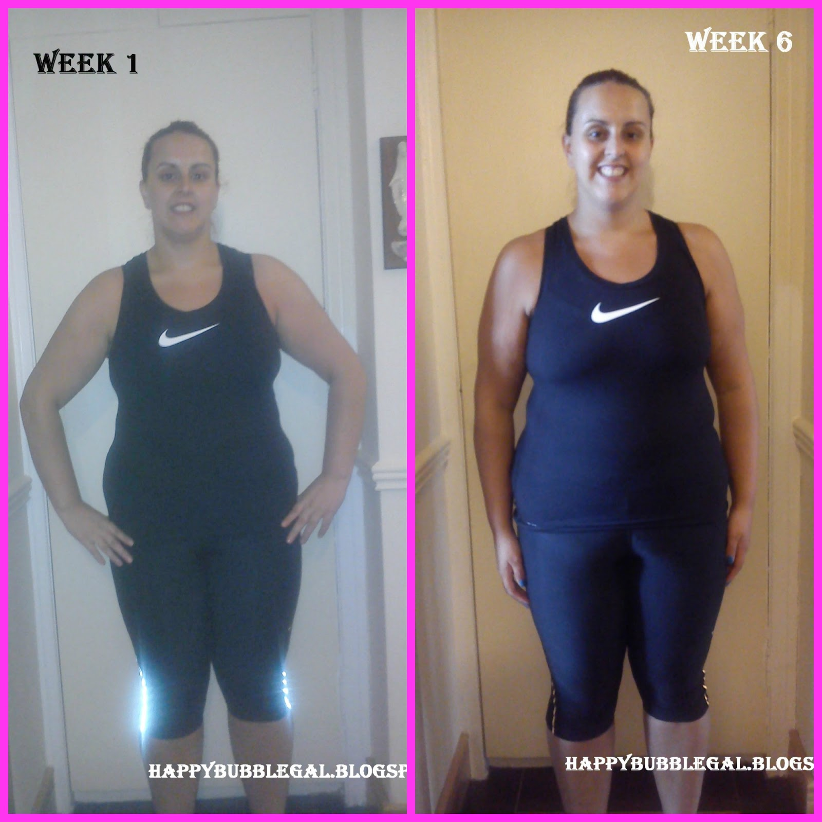 Happy Bubble Gal: 6 Week Challenge/Course Photos