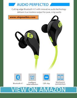 Soundpeats Qy7 Mini Lightweight Wireless Sports Headset (Black/Green) Review