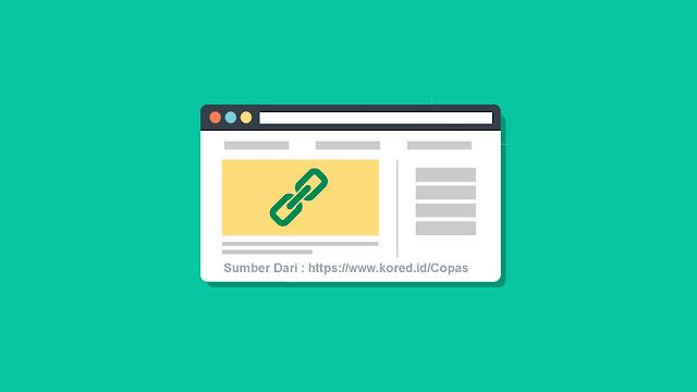 Cara Membuat Link Sumber Otomatis di blog - Kored ID