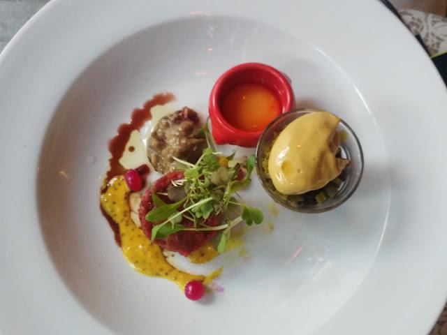Cena al ristorante Petrus-Budapest