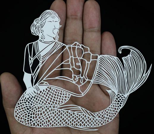 Menakjubkan Seni Potongan Kertas Yang Luar Biasa