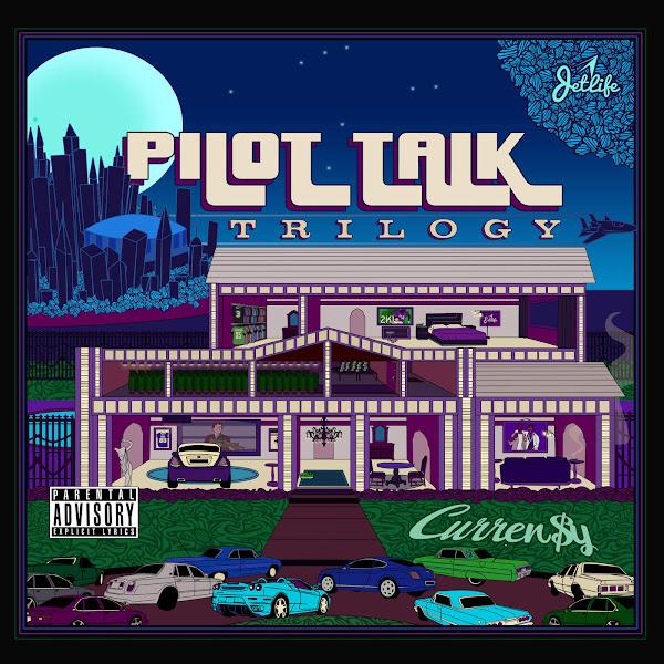 Curren$y - Pilot Talk Trilogy Cover