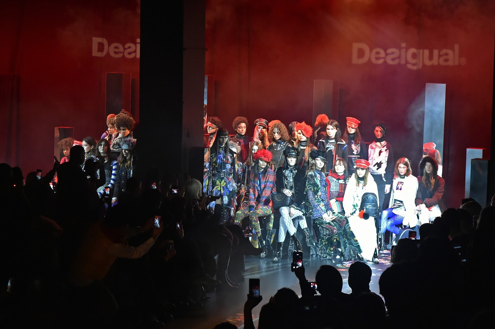 nyfw, new york fashion week, fashion week, nyfw 2017, desigual, runway, new york city fashion
