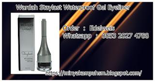 Cosmetic Wardah Staylast Waterproof Gel Eyeliner
