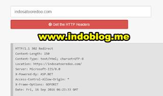 HTTP Header Check