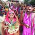बनकटवा:कलश स्थापना को ले 251 कन्याओं द्वारा निकाली गयी कलश यात्रा