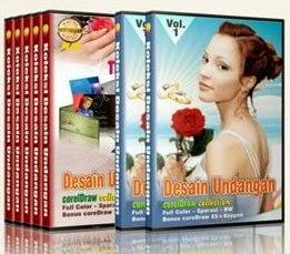 7 DVD Desain Undangan Pernikahan, Khitanan & Ulang Tahun