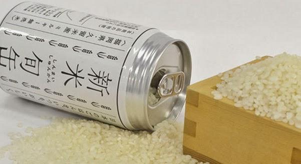 Beras Dalam Kaleng Dijual di Jepang